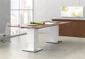 Height Adjustable Meeting Table Nucraft Products Conference Elevare