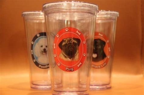 pug tumbler cup 34 best pugs images on