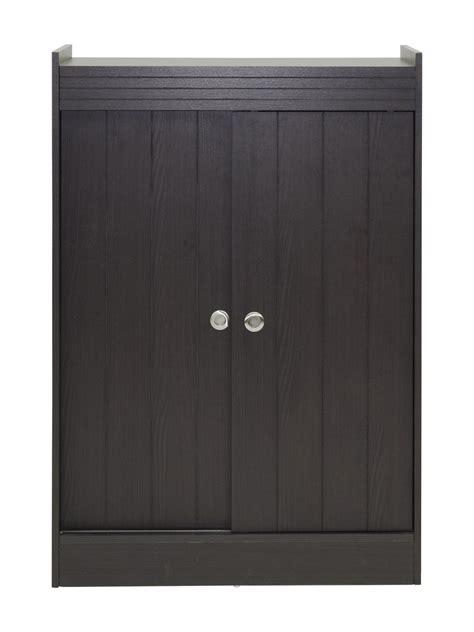 black cabinet with doors medium high black oak wood shoe cabinet with sliding doors