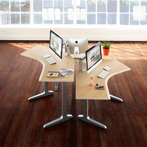 adjustable height tables bernards office furniture
