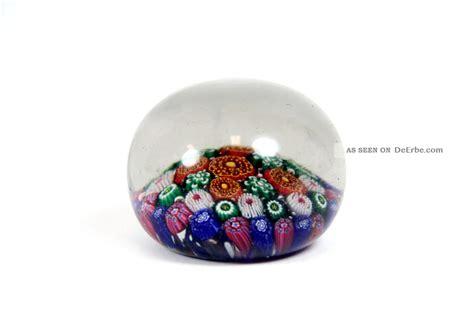 Bunte Lenschirme Aus Glas by Sch 246 Ner Briefbeschwerer Aus Glas B 246 Hmen Bunte Millefiori