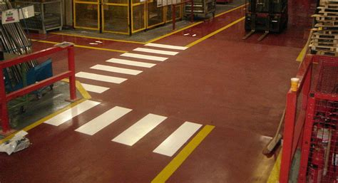 marking  industrial retail commercial flooring