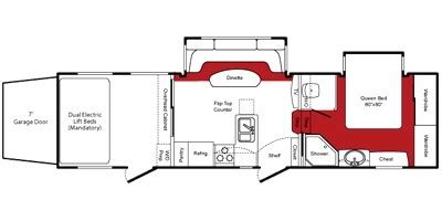 fuzion floor plans 2010 keystone fuzion 302 trailer reviews prices and specs rv guide