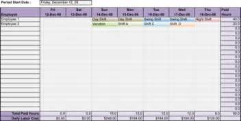 daily work schedule template for excel pdf and word