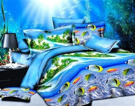 ocean bed sea kids ocean bedding sets 3d duvet covers bedspreads bed