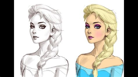 Sketches To Color by Adding Color To Sketch Photoshop Tutorial