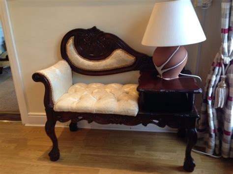 gossip bench for sale vintage mahogany telephone table gossip bench for sale in