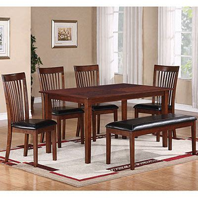 piece dining set slat chairs big lots hate cushions love bench seat home decor dining room furniture sets