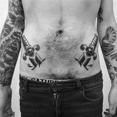 tattoos for men on hip 28 mens hip tattoos birds tattoos for you