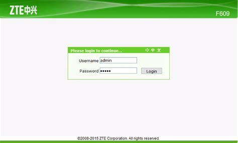 Modem Fiber Optik Zte Zxhn F609 home zte cara lengkap setting modem zte f609 fiber optik aceh pembaharu