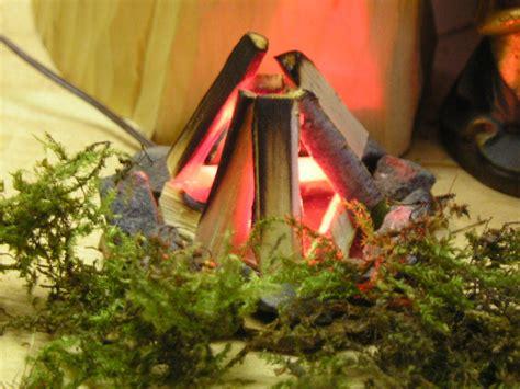 feuerstelle krippe alpenland krippen bauernhof krippenzubeh 246 r krippenbeleuchtung