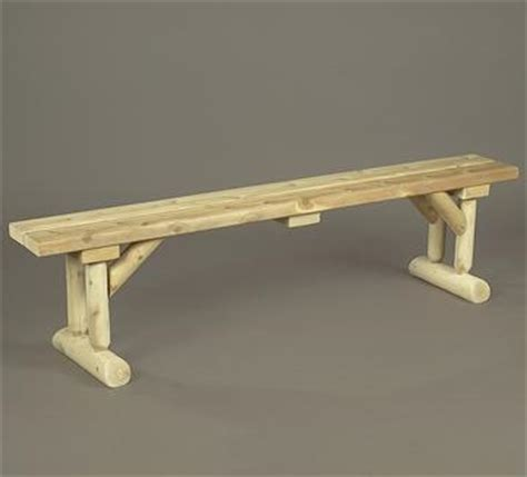 white cedar log bench northern white cedar log dining table bench