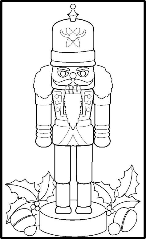 free nutcracker coloring pages to print nutcracker christmas nutcrackers and toy soldiers