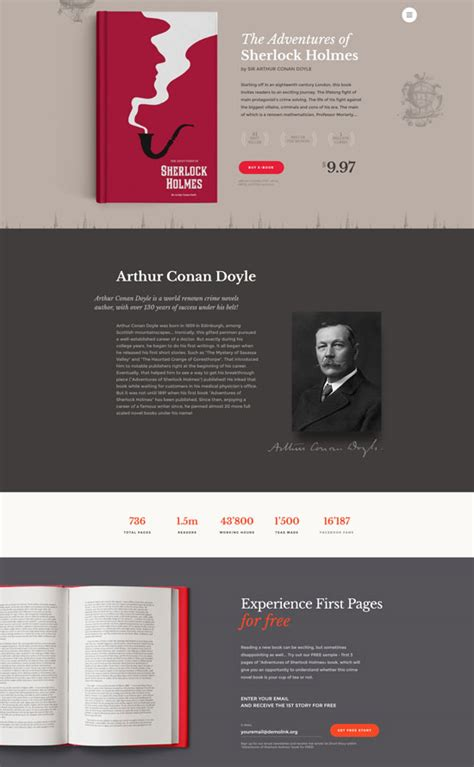 30 Best Book Website Templates 2018 Freshdesignweb Photo Book Website Template