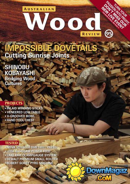 australian wood review    magazines