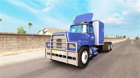mack rs  american truck simulator