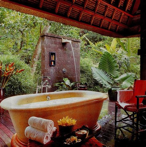 outdoor bathrooms australia 17 best images about balinese bathroom ideas on pinterest