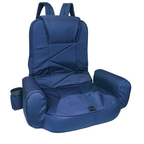 folding boat seat with armrests west marine high back go anywhere seat navy blue west