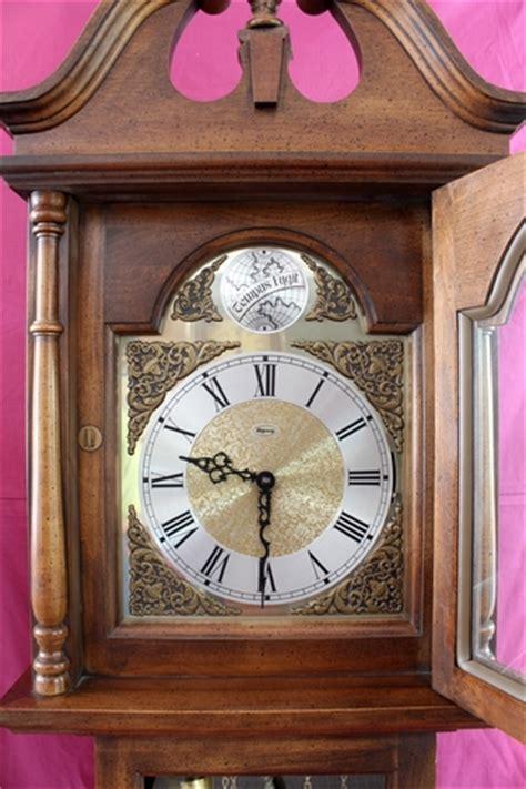 deep extra large wall clock ridgeway used grandfather clocks for sale