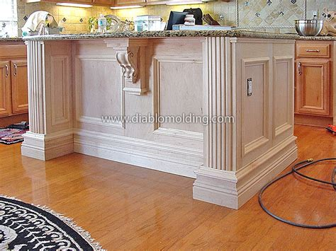 diablo molding and trim company kitchen islands