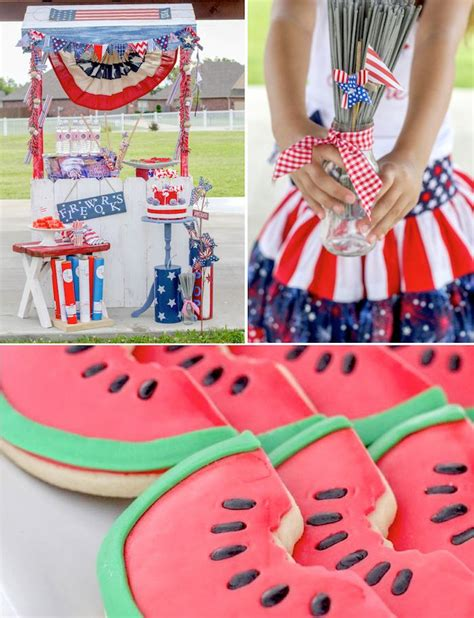 4th of july backyard party ideas kara s party ideas glorious 4th of july outdoor party via