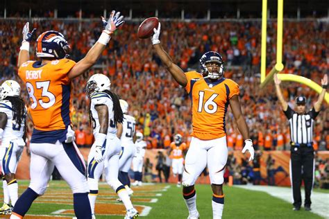 broncos and chargers score chargers vs broncos live updates scores highlights and