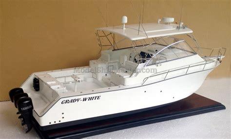 sport fishing boat scale model grady white express 360 sport fishing boat model
