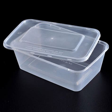 Container Microwave 750ml Plastic Microwave Safe Disposable Takeaway Food Container Rectangle Food Container 750ml Buy