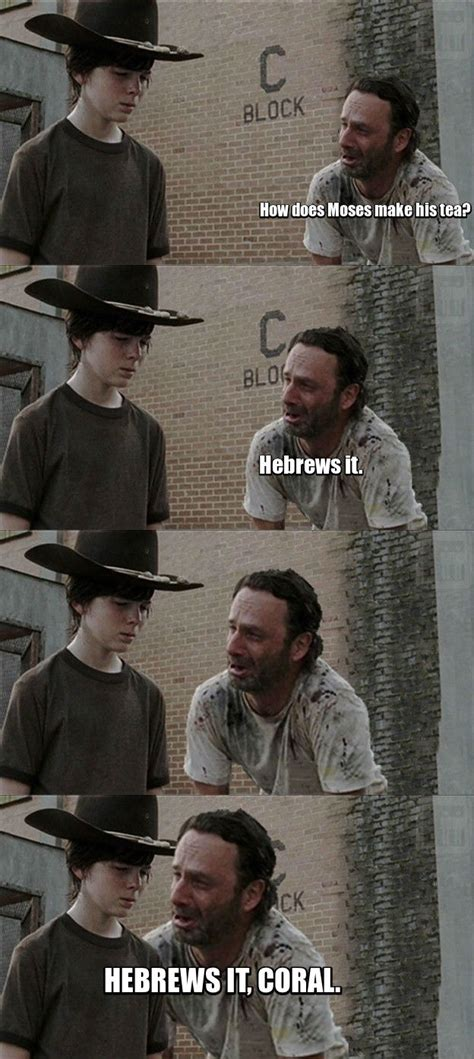 Rick Carl Memes - best of the dick grimes coral meme weknowmemes