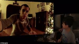 hidden cameras in bedrooms us boy watches footage of santa filmed in living room on