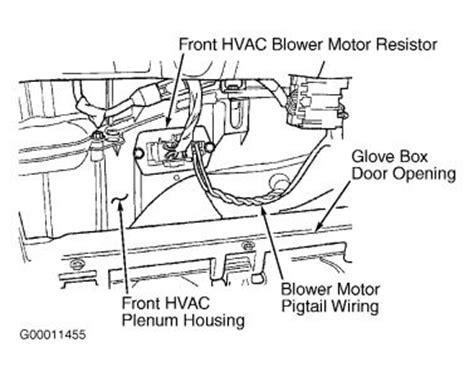 how to change blower motor resistor 2002 grand prix 2001 dodge caravan heat doesn t heater problem 2001 dodge