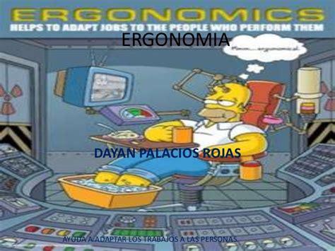 Ergonomy At Work Ergonomia