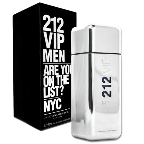 212 Vip By Carolina Herera Edt 100ml perfume masculino carolina herrera 212 vip edt 100 ml pra ti mulher