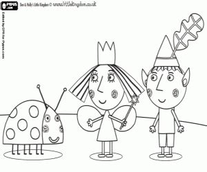 ben hollys kingdom coloring pages print coloring pages