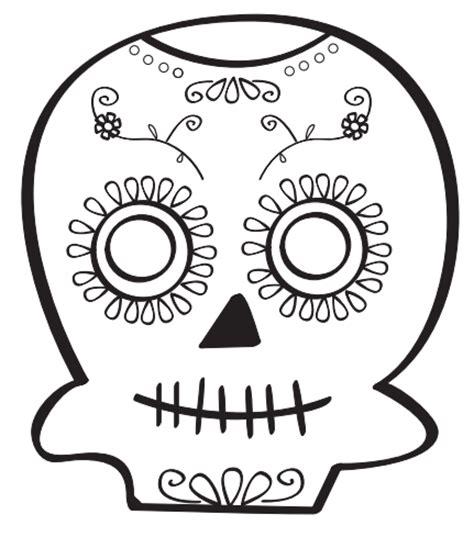 dibujos para colorear calaveras de dia de muertos dibujos de calavera para dibujar imagui