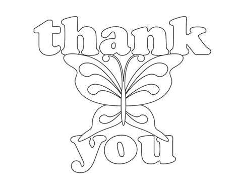 thank you card template pages thank you coloring pages coloring design 21530