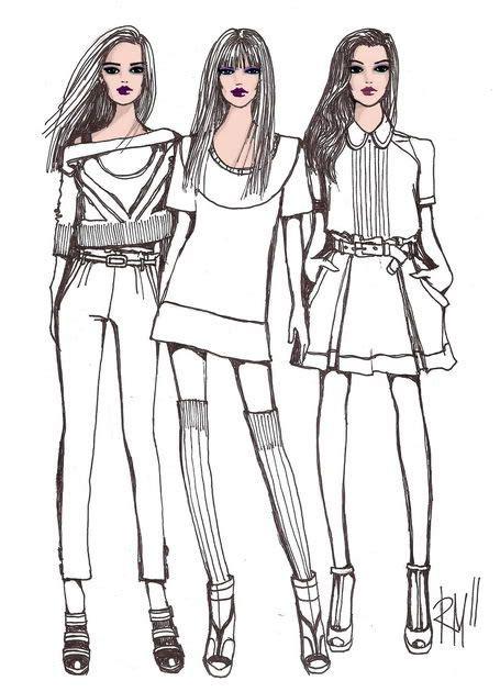 fashion illustration on photoshop fashion sketch fashion illustration photoshop illustration sketch drawing rm rimmamaslak 2011