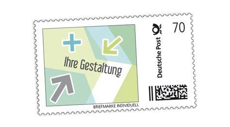 Etiketten Briefmarken Drucken by Briefmarke Individuell Deutsche Post