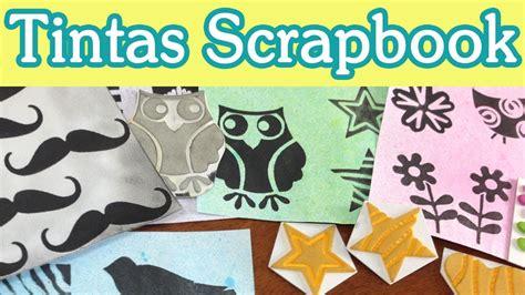 tutorial tintas scrapbooking haz tintas scrapbooking tutorial scrapbook diy youtube