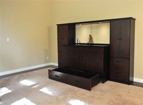 bed wall unit metro wall unit and cabinet bed murphy beds of san diego