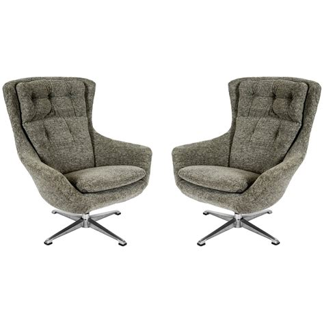 Swivel Armchairs For Sale by Pair Of Swivel Armchairs For Sale At 1stdibs