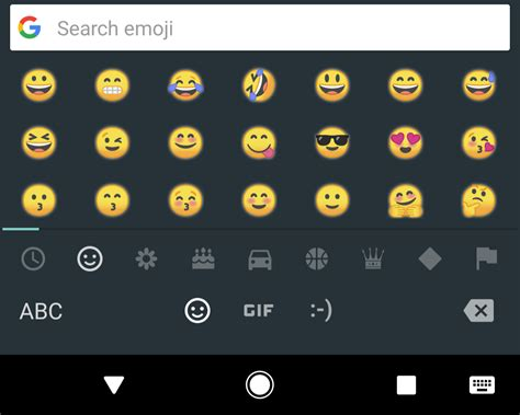 new emoji for android android o beta introduces a new style of emoji no more blobs 9to5google
