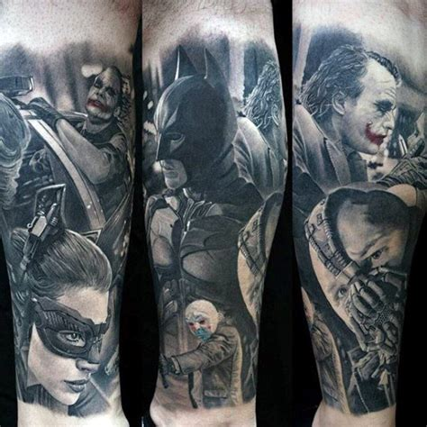 dark knight tattoo designs 50 bane designs for manly ink ideas