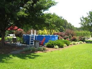 landscaping around a pool landscaping around temporary pool summer project