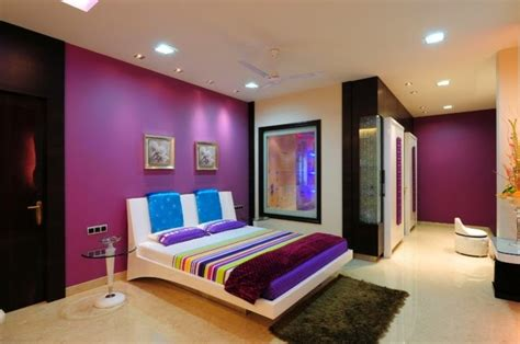 painting bedroom walls different colors 15 cool purple bedroom ideas for color schemes and color