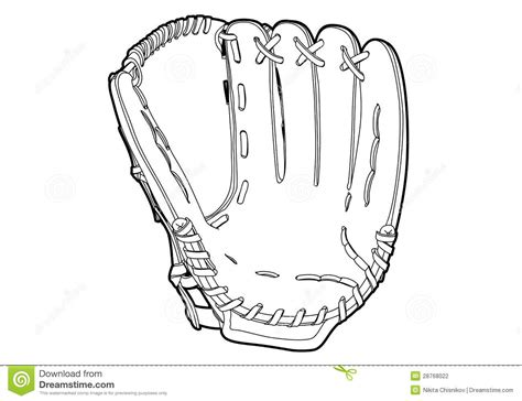 baseball glove stock photography image