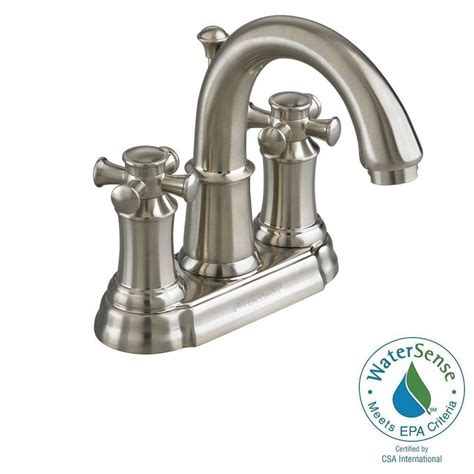 bathtub faucet with shower connection american standard portsmouth 4 in 2 handle high arc