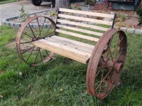metal wagon wheel bench pin by rosy cangelosi on something different pinterest