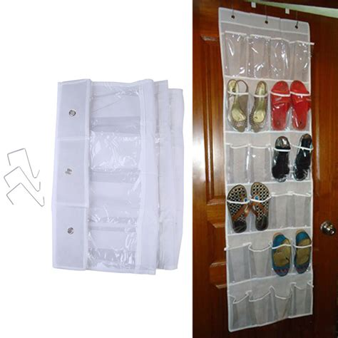 Door Hanging Rack by Aliexpress Buy Practival 24 Pocket Door Hanging Shoe