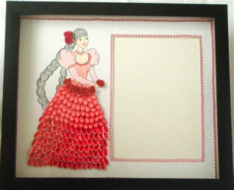 Handmade Paper Photo Frames Designs - quilling photo frame designs 2015 quilling